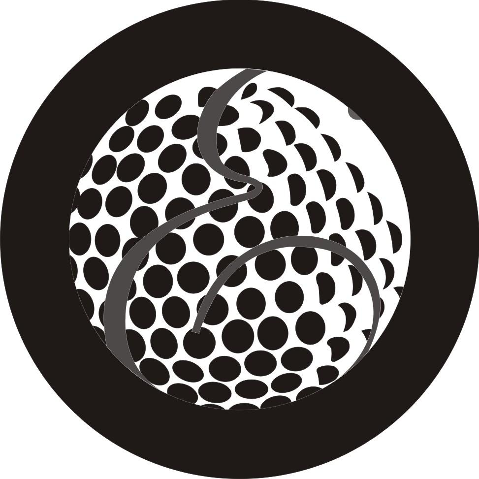Golf Ball Logo Template Golf Ball Logo Vector Golf